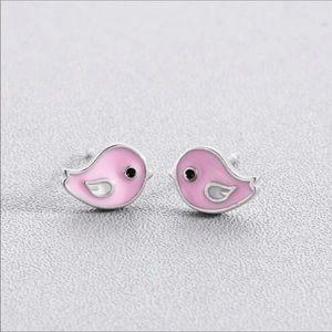 Tiny Bird Earrings